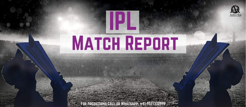 IPL Match Report