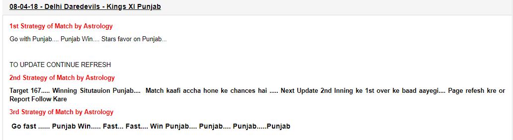 delhi vs punjab ipl match report