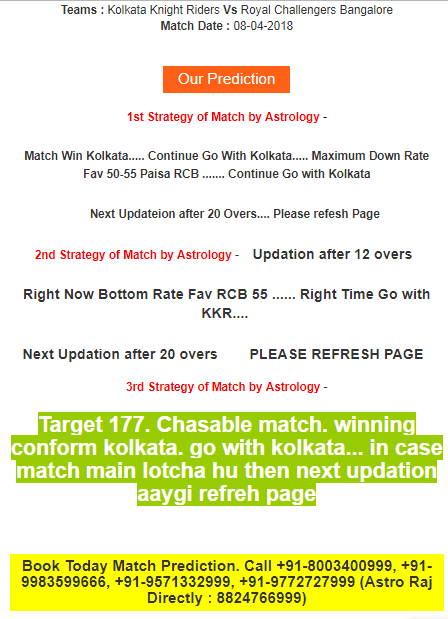kkr vs rcb match prediction