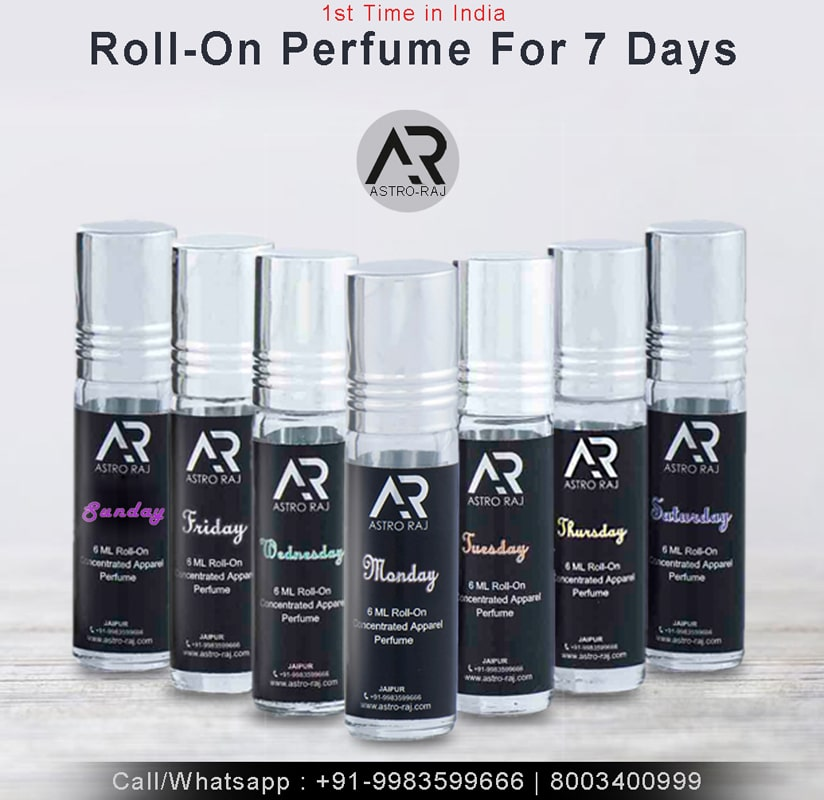 Perfumes you must have for 7 days of Week
