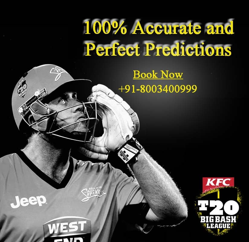 Big Bash League T20 Predictions