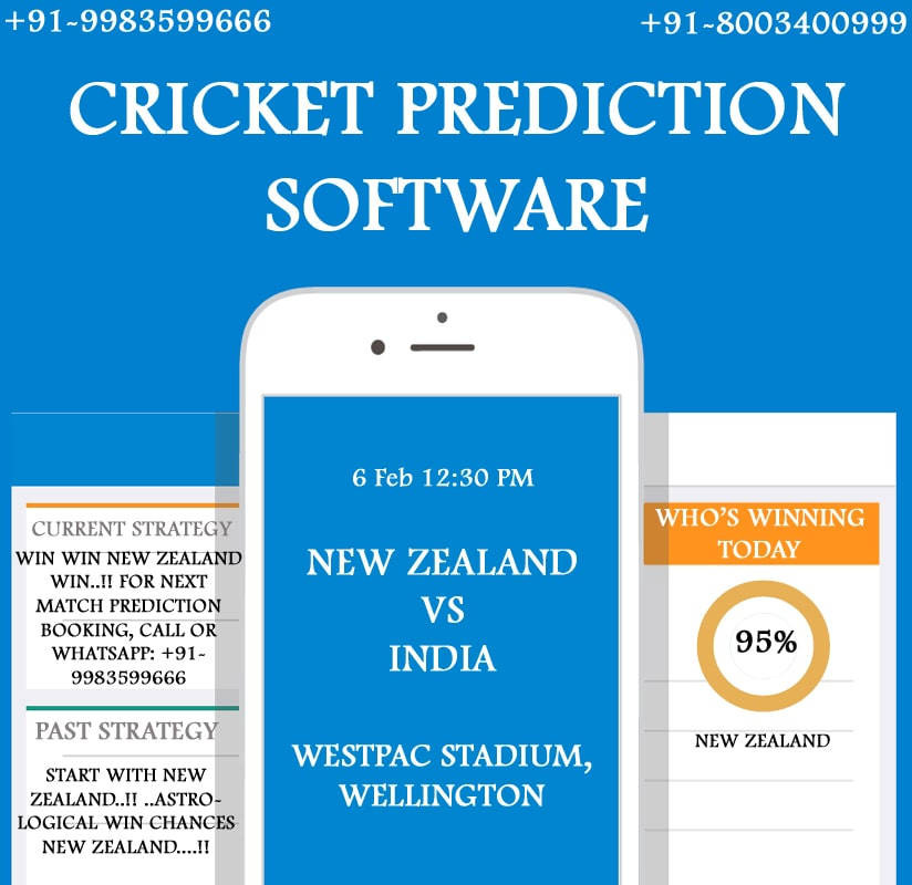 Cricket Prediction Software