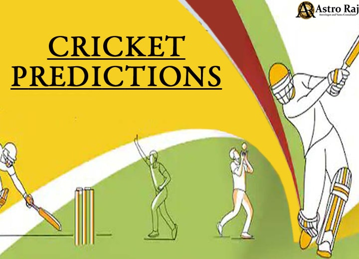 BEST ASTROLOGICAL PREDICTIONS FOR CRICKET -WITH HIGHEST ACCURACY IN THE WORLD