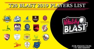 t20 blast 2019 players list