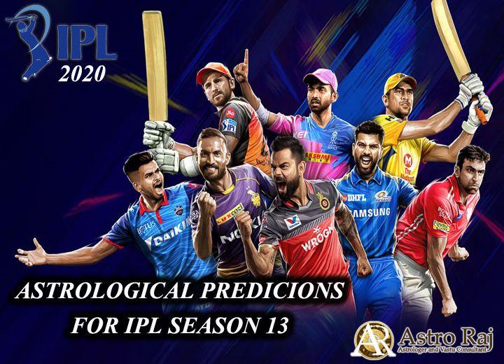 IPL T20 PREDICTIONS, WHO WILL WIN THE IPL 13 SEASON