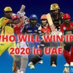 IPL T20 Predictions
