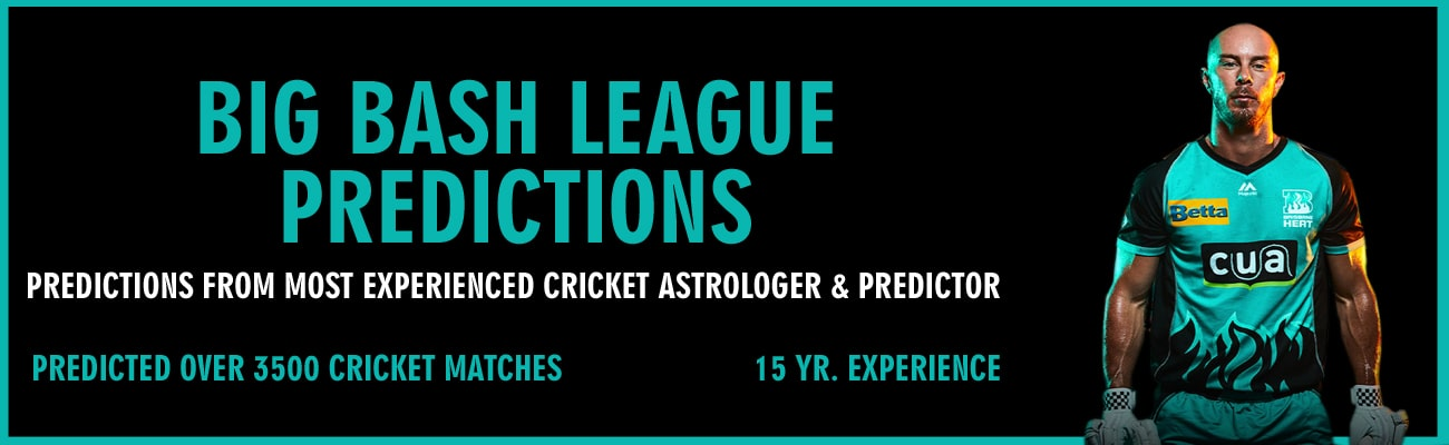 BBL T20 Predictions