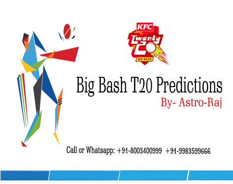 Big Bash Astrology Prediction