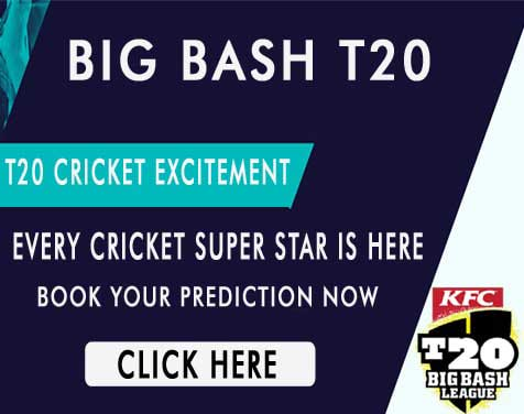 Big Bash Today Match Prediction