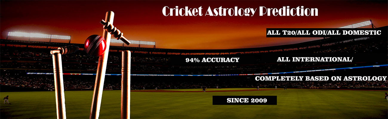 Cricket Astrology Predictions