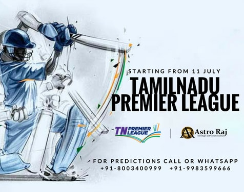 Tamilnadu Premier League Predictions