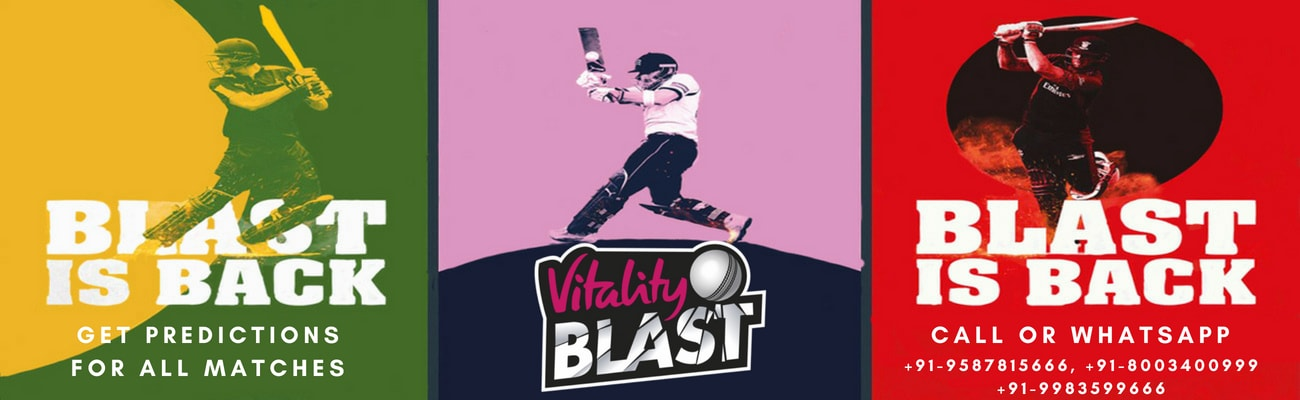 who will win today t20 blast match prediction