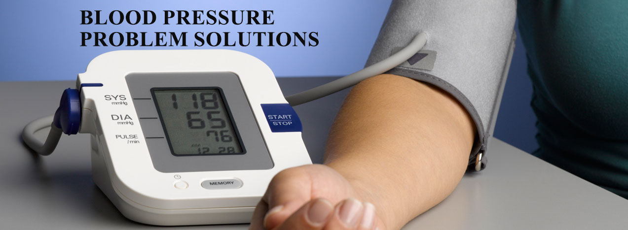 blood pressure problem solutions