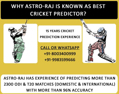 why astro raj is known as best cricket predictor