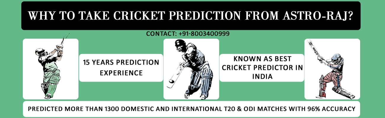 why to take cricket prediction from astro raj
