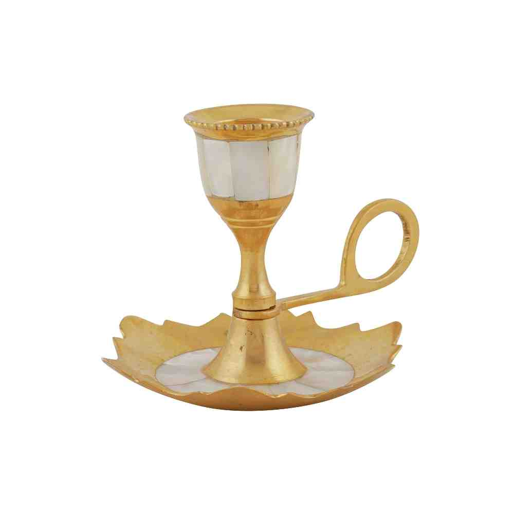 Candle Stand Antique Special Chip Work in Ancient Look