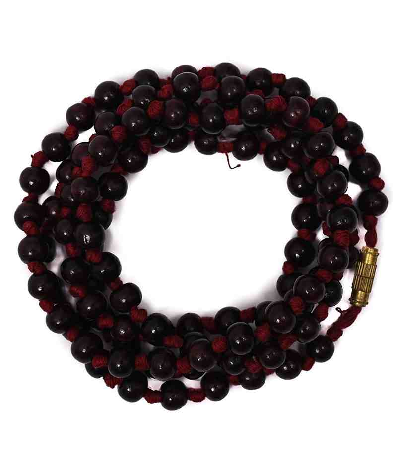 Red Chandan Japa Mala