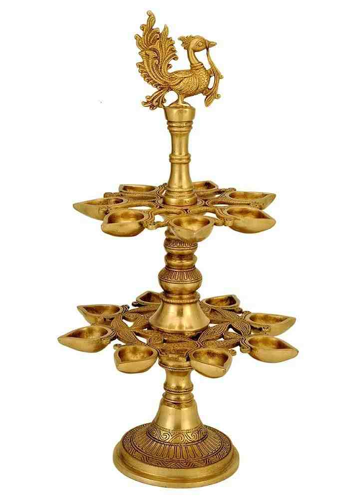 Pure Brass Lamp Diya