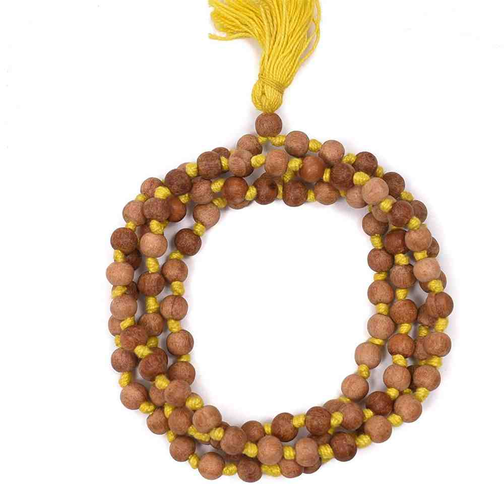 Tulsi Jaap Mala Original (Yellow Thread)